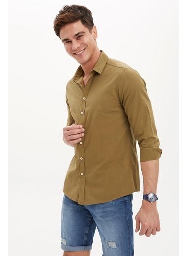 DeFacto Gömlek Haki